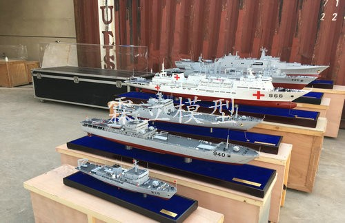 701 batch customized warship models