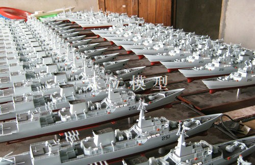 Batch Warship Model Exported to Pakistan