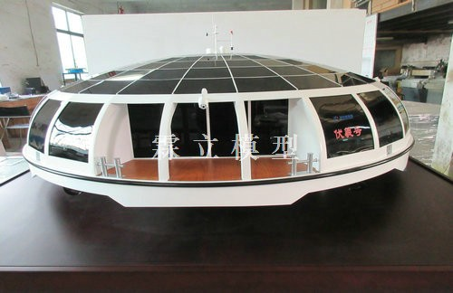 Customized Solar Yacht Model of Wuxi Yacht Company